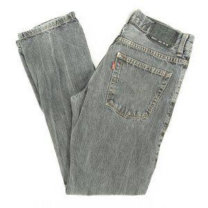 Levi's 511 Jeans Skinny Zip Fly Gray Size 16 28x28